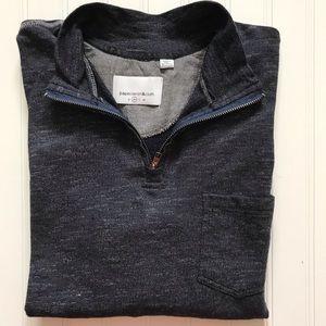 PAPER DENIM & CLOTH   1/4 Zip Pullover!    M